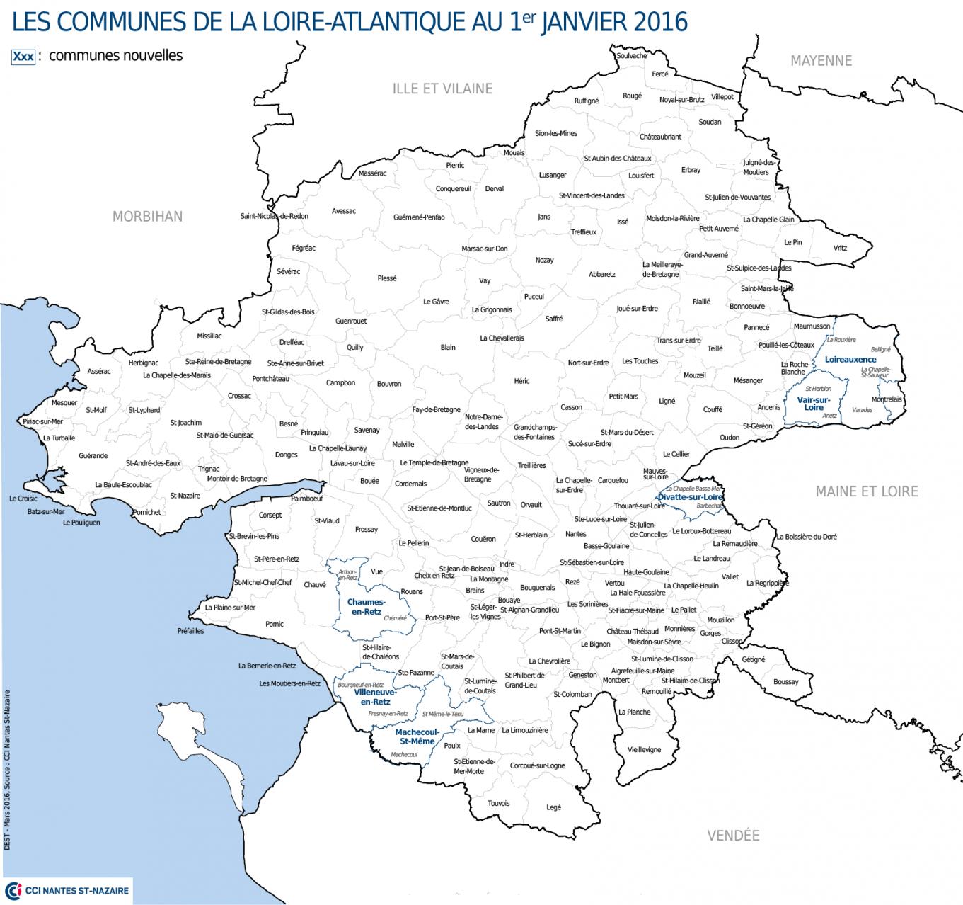 Carte Loire Atlantique.Nouveau Decoupage Geographique A Quoi Va Ressembler La