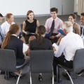 Business speed meeting