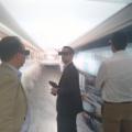 Les membres du réseau PLATO 44 en visite à Saint Nazaire